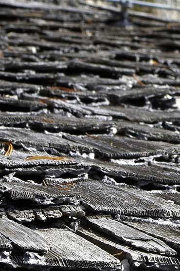 shake roof needing repair