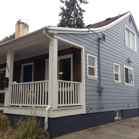 James Hardie siding Trim and exterior Sherwin Williams Paint
