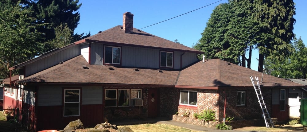 completed malarkey roofing