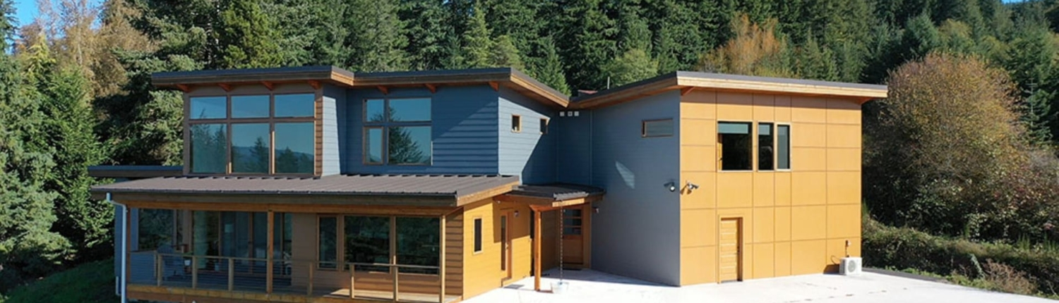 new siding on a modern home in portland example