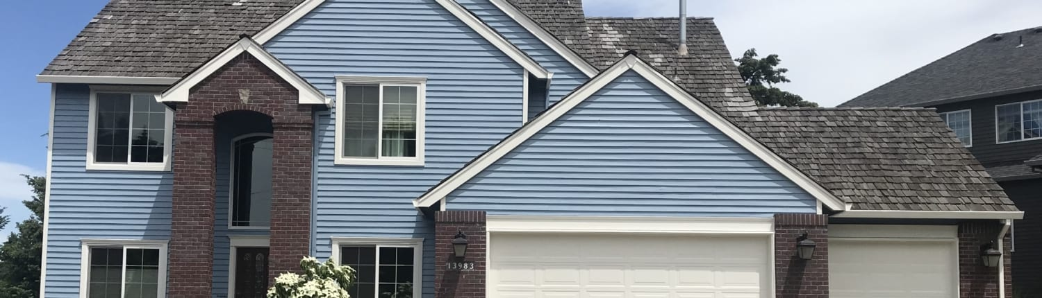 Professional residential paint job from the top Siding contractor in Portland